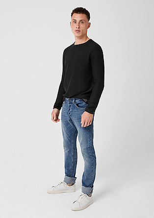 Rick Slim: jeans with a button placket from s.Oliver