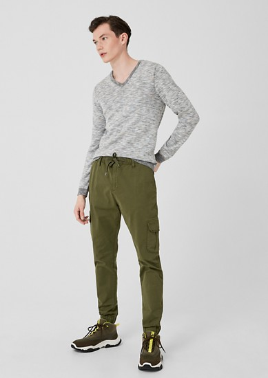 Cargo-style tracksuit bottoms from s.Oliver