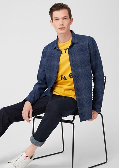 Extra Slim: Hemd aus Feinflanell