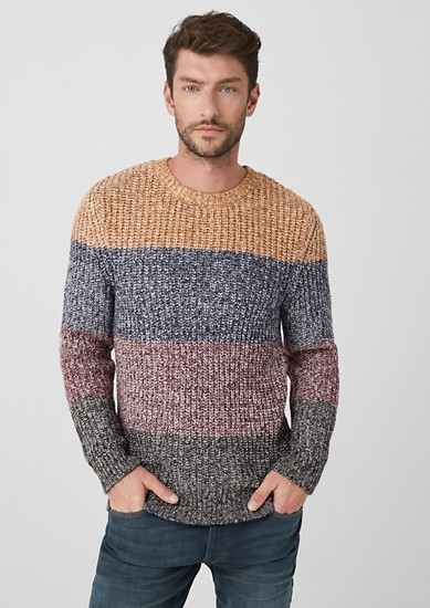 Pullover mit Colourblocks