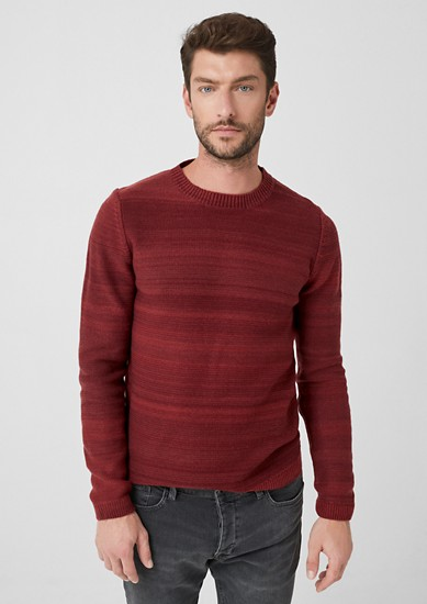 Pullover in Woll-Optik