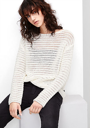 Chunky rib knit jumper from s.Oliver