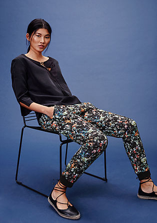 Jogging Pants mit Allover-Muster from s.Oliver
