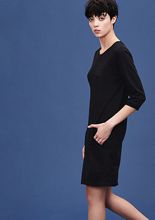Sweatshirt dress with a kangaroo pocket from s.Oliver