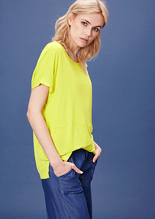 Oversized top in viscose jersey from s.Oliver