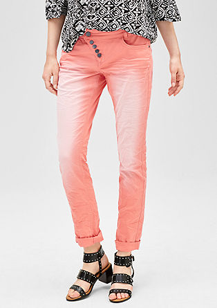 Slim: stretch jeans with colour graduation from s.Oliver