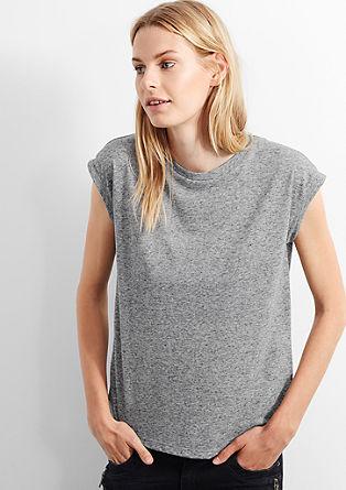 Shirt mit verkürzten Ärmeln