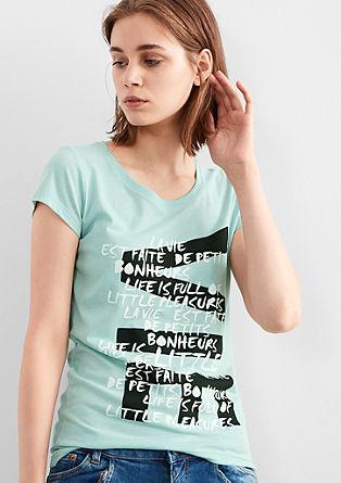 Shirt mit Print-Collage