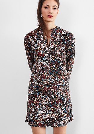 Casual millefleurs dress from s.Oliver