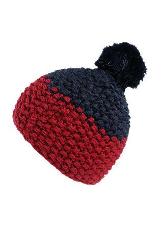 Mütze mit Fake Fur