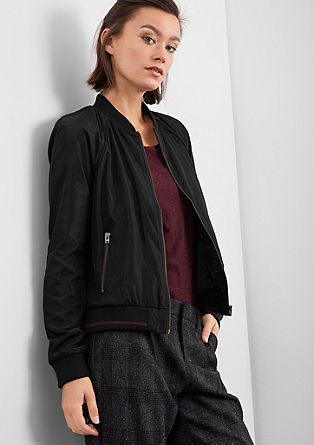 Bomber jacket blazer in nylon from s.Oliver