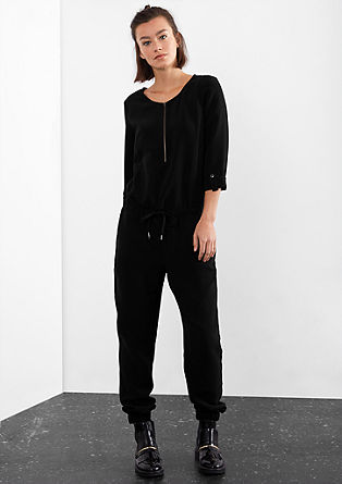 Jumpsuit with a zip from s.Oliver