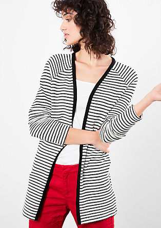 Cardigan with stripes from s.Oliver