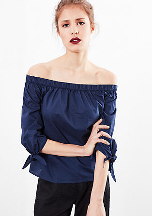 Loose, off-the-shoulder blouse from s.Oliver