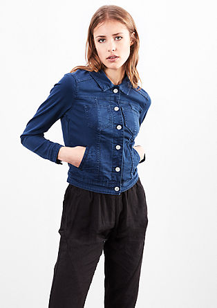 Stretchy denim jacket from s.Oliver