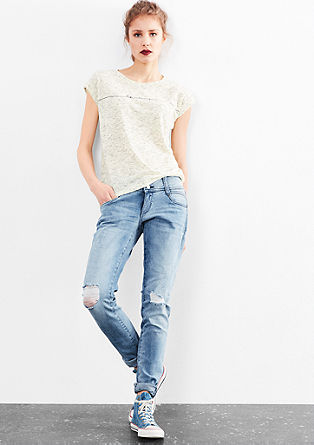 Sadie Superslim: Distressed Jeans