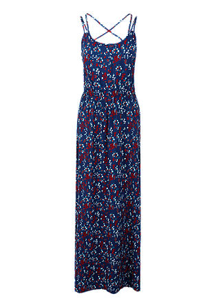 Maxi dress with a printed pattern from s.Oliver