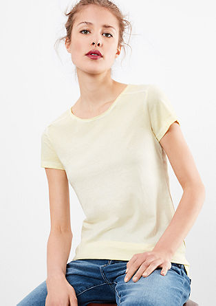 Casual pigment-dyed shirt
