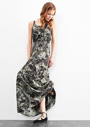 Patterned maxi dress from s.Oliver