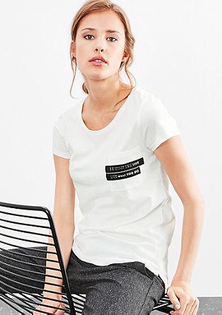 Tričko s kapsou na hrudi