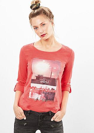 Shirt mit Foto-Print