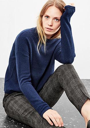 Softer Pullover aus Glattstrick