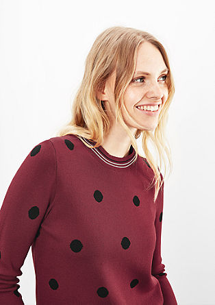 Jumper with polka dots from s.Oliver