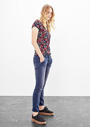 Catie Slim: sprane satenaste hlače