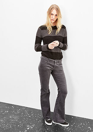 Catie Bootcut: Coloured Cord