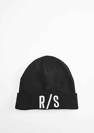 Softe Mütze mit Stitching