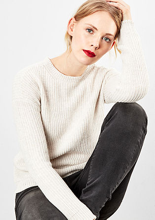 Rib knit jumper from s.Oliver