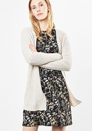 Long chunky knit cardigan from s.Oliver