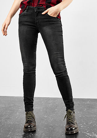 Sadie Superskinny: coloured jeans from s.Oliver