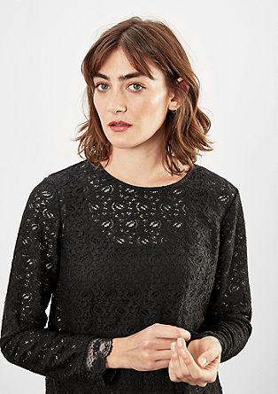 Bluzna majica iz grobe čipke