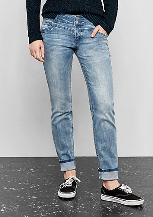 Catie Straight: Jeans im Used-Look