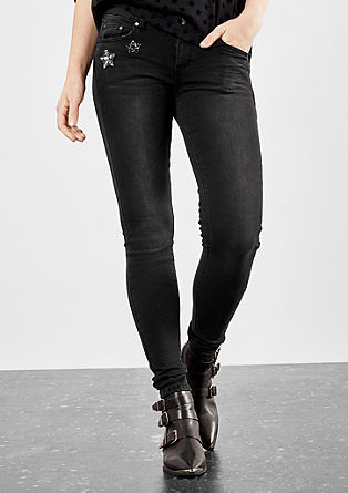 Sadie superskinny: stretchjeans