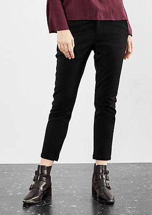 Gwen tapered: Losjes vallende broek