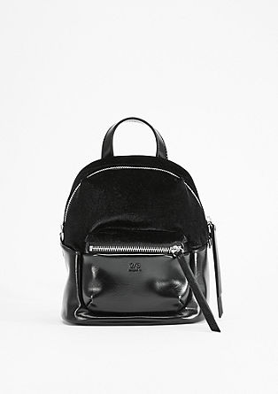 Rucksack in a mix of materials from s.Oliver