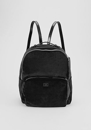 Velvet rucksack from s.Oliver