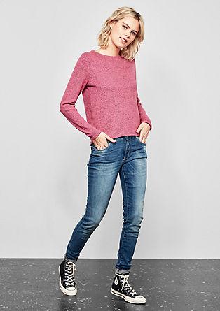 Softer Melange-Pullover