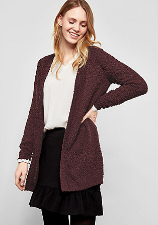 Cardigan with a fantasy pattern from s.Oliver