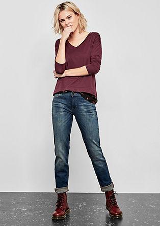 Catie Slim: Jeans mit Destroyes
