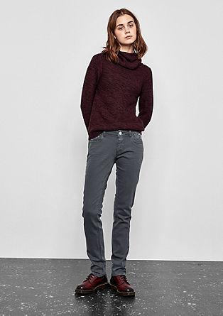 Catie Slim: Jeans mit Nieten