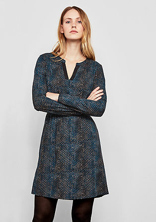 Soepele jurk met print