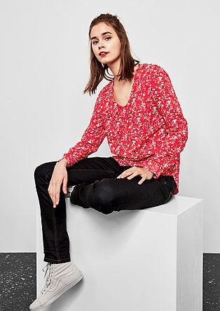 Patterned tunic blouse from s.Oliver