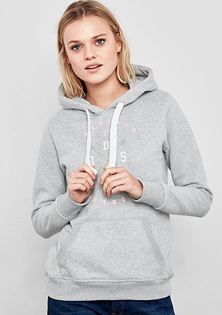 Hoodie with glittery details from s.Oliver