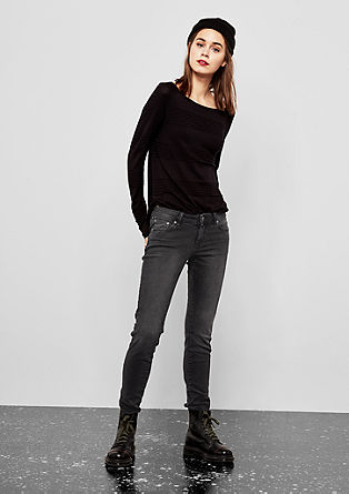 Sadie Superskinny: Denim mit Zipper