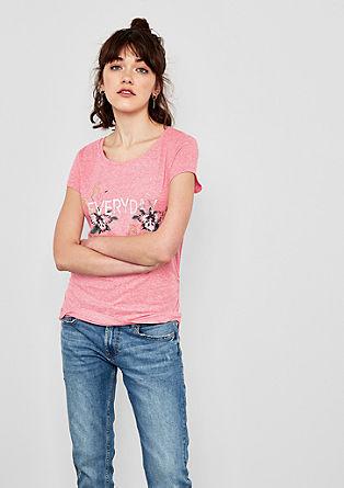 Jerseyshirt mit Foil-Print