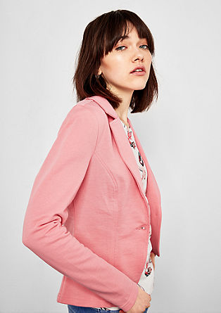 Fitted sweatshirt blazer from s.Oliver