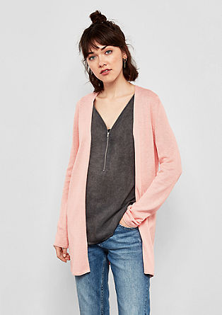 Feiner Long-Cardigan